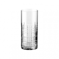 Vaso Highball Tallado